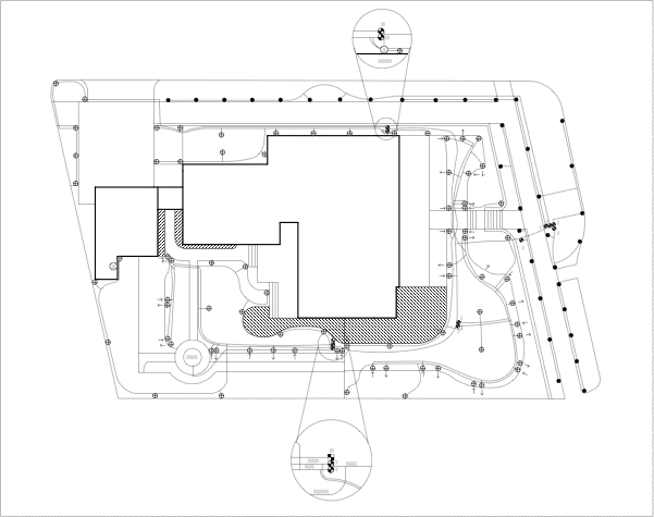 Irrigation Blueprint - Capping sprinklers for new pool
