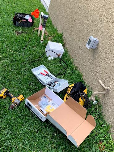 Sprinkler controller repair riverview florida